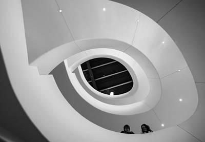 Photograph - Epic Spiral Stairway by Bill Pevlor