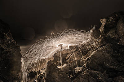 Photograph - Epic Steel Wool... by Israel Marino