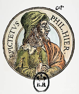 Epictetus Print by Granger