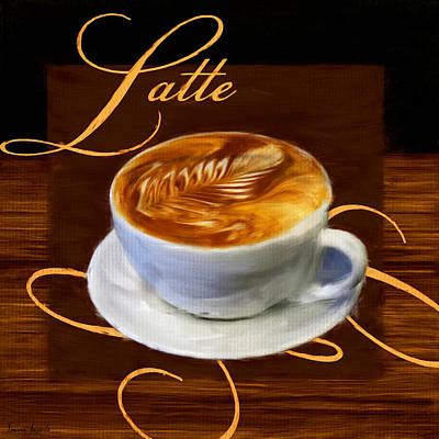 Arabica Digital Art - Epicurean Delight by Lourry Legarde