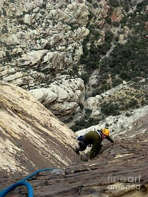 Climbing Photograph - Epinephrine by Greg Mason Burns