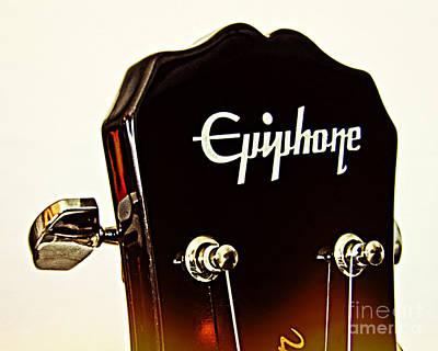 Epiphone 2 Print by Emily Kelley