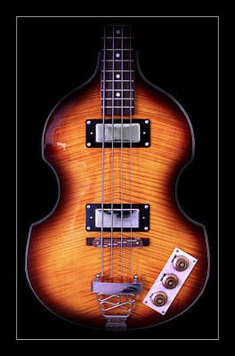 Hofner Photograph - Epiphone Viola Bass Guitar by John Cardamone