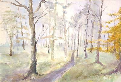 Painting - Epping Forrest by David  Hawkins
