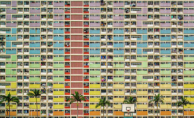 Hong Kong Wall Art - Photograph - Equalizer by Fahad Abdualhameid