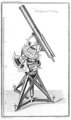 Philosophical Photograph - Equatorial Telescope by Royal Astronomical Society