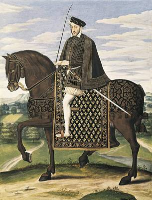Equestrian Clothes Photograph - Equestrian Portrait Of Henry II, King by Everett