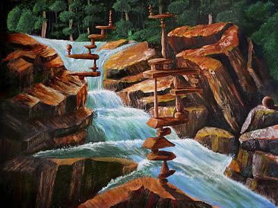 Painting - Equilibrium by Siyavush Mammadov