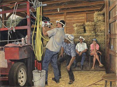 Equine Dentristy Original by Don  Langeneckert