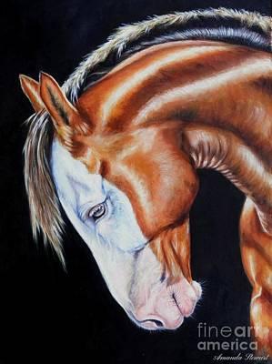 Equine Elegance Art Print by Amanda Hukill