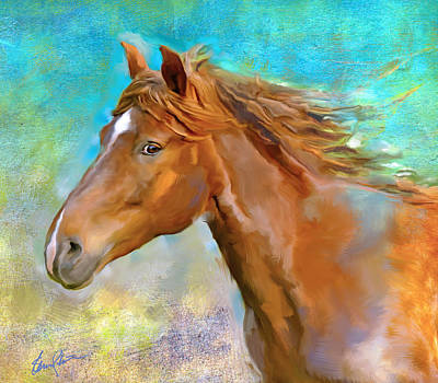 Painting - Equus 1 by Steven Lester