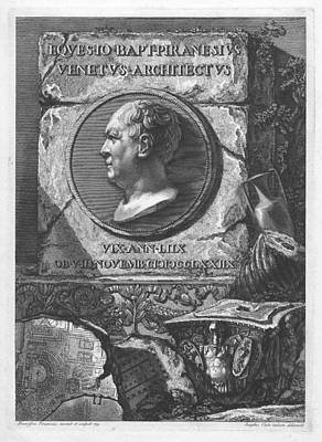 Digital Art - Eqves Io. Bapt. Piranesivs Venetvs Architectvs by Francesco Piranesi
