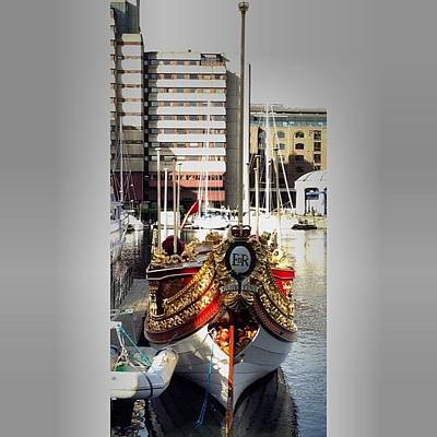 Er Photograph - #er #gloriana #st #katherines #docs by Baz Twyman
