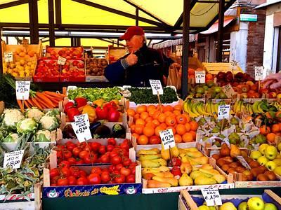 Photograph - Erberia Rialto Market by Keith Stokes
