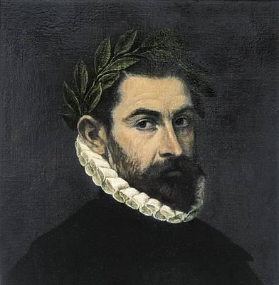 Ercilla Y Zu�iga, Alonso De 1533-1594 Art Print by Everett
