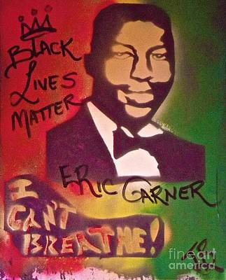 American Conservative Party Painting - Eric Garner by Tony B Conscious