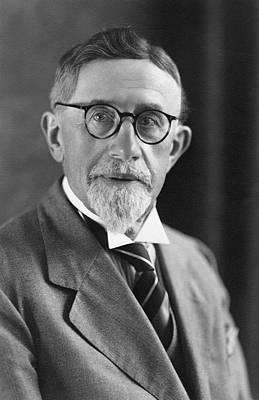 Inheritance Photograph - Erich Von Tschermak by American Philosophical Society