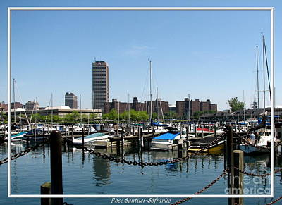 Photograph - Erie Basin Marina Buffalo New York by Rose Santuci-Sofranko