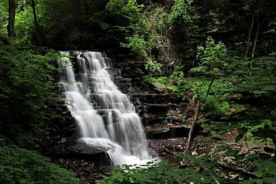 Nature Photograph - Erie Falls by Timothy Coover