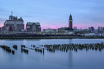 Photograph - Erie Lackawanna Terminal Sunset by Susan Candelario
