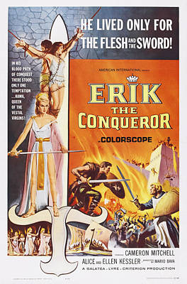 Cameron Mitchell Photograph - Erik The Conqueror, Us Poster Art by Everett