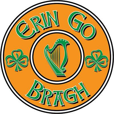 Digital Art - Erin Go Bragh by Ireland Calling