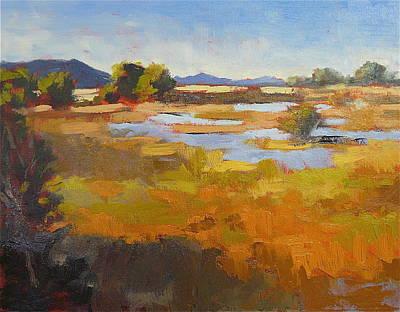 Karoo Painting - Erin by Yvonne Ankerman