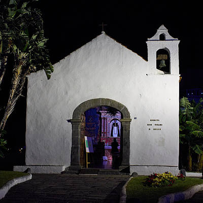 Photograph - Ermita San Telmo. Puerto De La Cruz By Night by Jouko Lehto