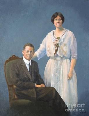 Ernest And Helen Barnes Art Print