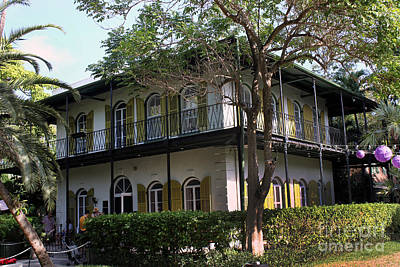 Photograph - Ernest Hemingway Home by Steven Spak