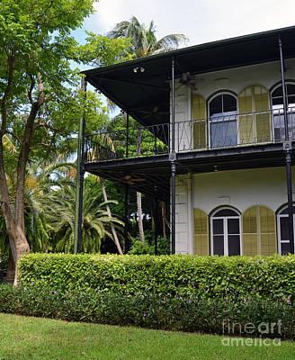 Photograph - Ernest Hemingway House Key West Florida by Shawn O'Brien