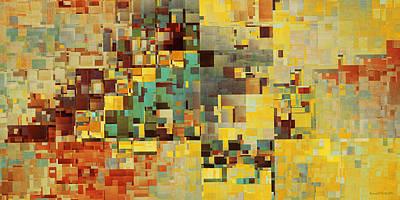 Brutalism Digital Art - Erno by Richard Kelly