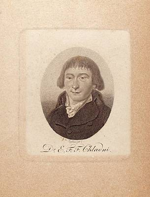 18th Century Photograph - Ernst Chladni by Joseph Muller Collection /new York Public Library
