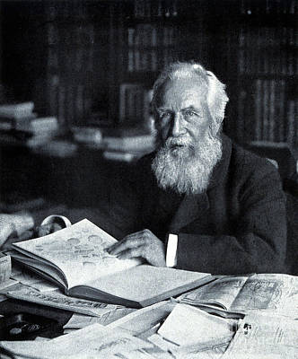 Photograph - Ernst Haeckel Naturalist And Artist by Wellcome Images