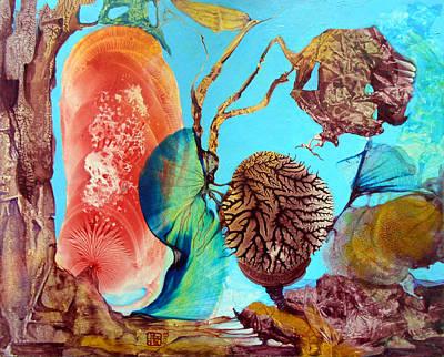 Painting - Ernsthaftes Spiel Im Innerem Erdteil by Otto Rapp