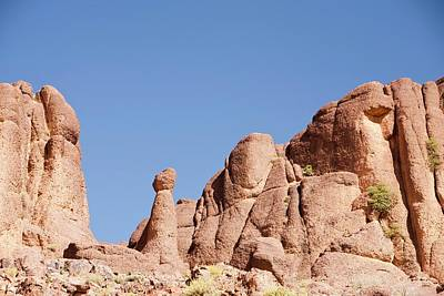 Hot Boulders Photograph - Eroded Granite Boulders by Ashley Cooper