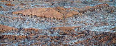 Luna Photograph - Eroded Hills At Sunset In The Atacama by Panoramic Images