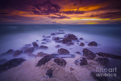 Naples Beach Wall Art - Photograph - Eroded by Marco Crupi