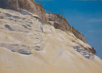 Eroding Dune Original by Christopher Reid