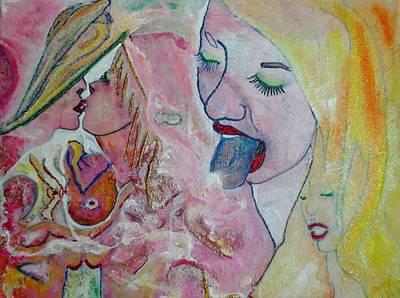 Eros Tic Art Print by Michael DESFORM