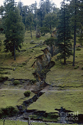 Photograph - Erosion by Charles R Belinky
