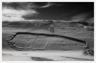 Benchmark Photograph - Erosion Dunes White Sands National Monument New Mexico by Mark Goebel