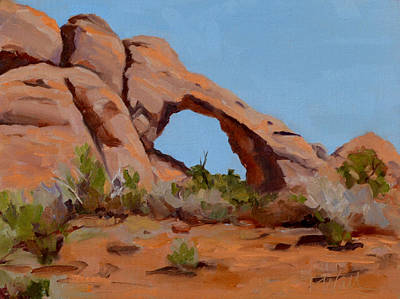 Painting - Erosion by Pattie Wall