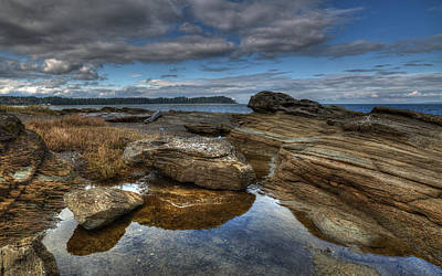Photograph - Erosion by Randy Hall
