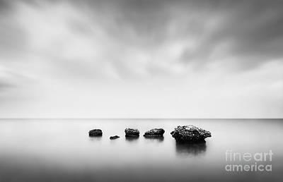 Greek Island Photograph - Erosion by Rod McLean