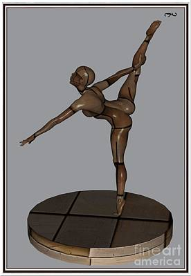 Statue Portrait Digital Art - erotic acrobatics 13EA 1 by Pemaro