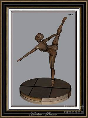 Statue Portrait Digital Art - erotic acrobatics 13EA 2 by Pemaro