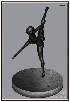 Statue Portrait Digital Art - erotic acrobatics 6EA 1 by Pemaro