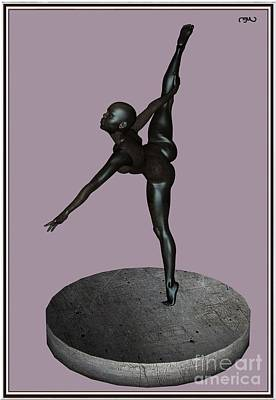 Statue Portrait Digital Art - erotic acrobatics 8EA 1 by Pemaro