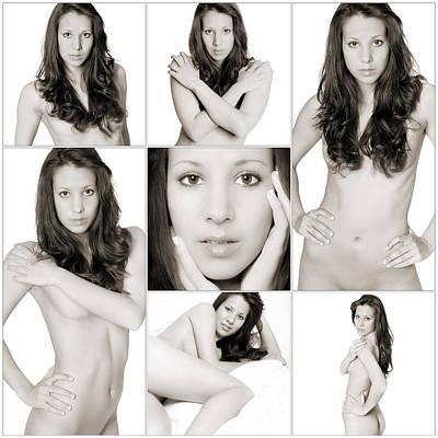 Intimate Photograph - Erotic Beauty Collage 7 by Jochen Schoenfeld
